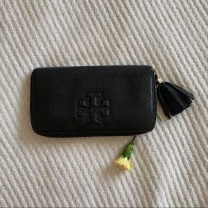 Tory Burch Black Wallet